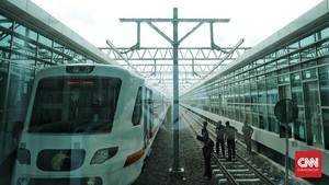 Kereta Bandara Soekarno-Hatta Akan Beroperasi 1 Desember 2017