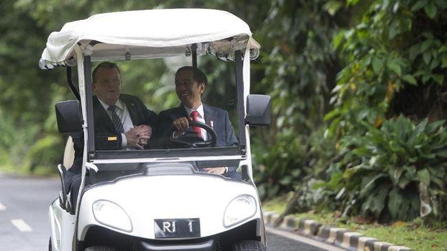 Jokowi Minta Dukungan Denmark Lawan Kampanye Hitam Sawit