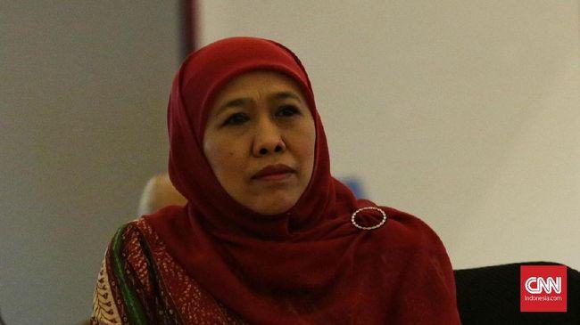 Temui Jokowi, Khofifah Bantah Bahas Pilgub Jatim 2018