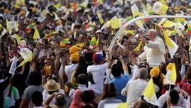FOTO: Paus Fransiskus ke Myanmar di Tengah Isu Rohingya
