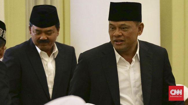 Gatot Nurmantyo Angkat Suara Soal UU Terorisme