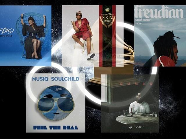 Best R&B Album Grammy Awards 2018