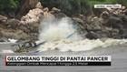 Gelombang Tinggi di Pantai Pancer, Nelayan Berhenti Melaut