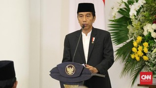 Jokowi Bebaskan Bea Masuk Impor Barang dari Palestina
