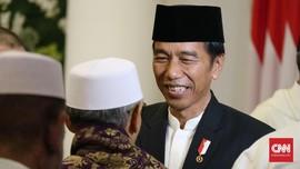 Jokowi Soal Santri: Tak Sulit Cinta Agama Sekaligus Bangsa