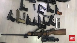 Senjata Rakitan dan Bom Pipa di Tangerang Dijual di Medsos