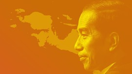 Sentuhan Jokowi di Bumi Cenderawasih