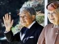Kaisar Akihito Rayakan HUT Pernikahan Terakhir di Istana