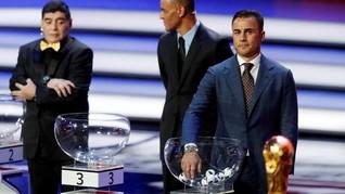 Argentina Masuk Grup Berat di Piala Dunia 2018