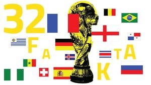 INFOGRAFIS: Fakta 32 Peserta Piala Dunia 2018
