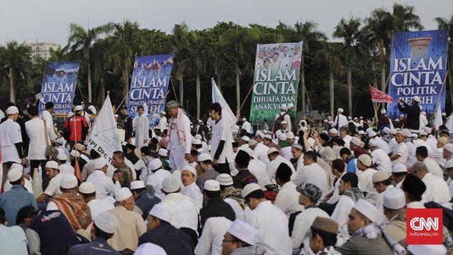 Rizieq Dorong Konsep NKRI Bersyariah di Reuni Alumni 212