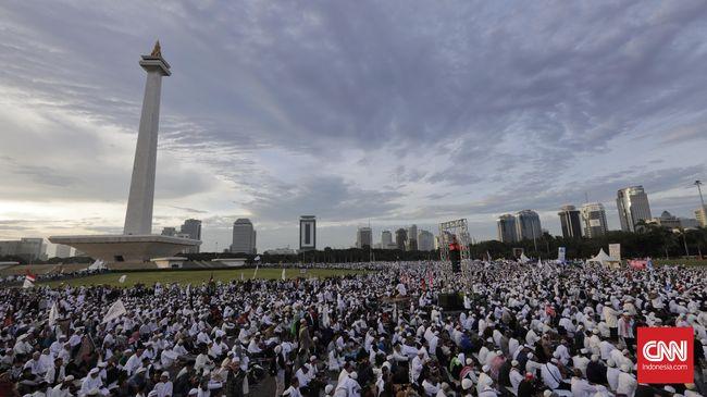 Wajah-wajah Cemas Rakyat di Reuni Akbar 212