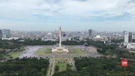 VIDEO: Reuni 212 Tak Seramai Aksi Tahun Lalu