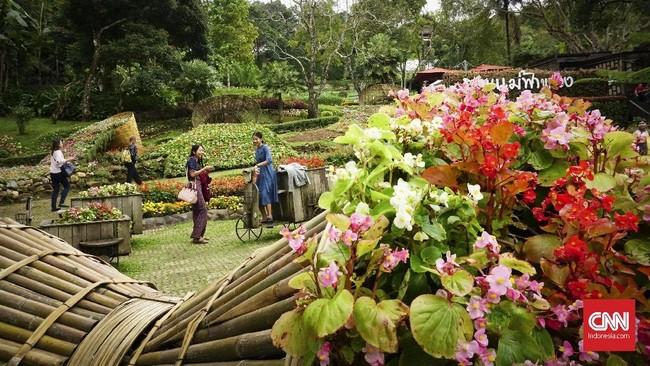 Vila dan taman bisa dikunjungi setiap hari, mulai dari pukul 07.00 sampai 17.00. Tiket masuknya seharga Rp33 ribuan per orang.