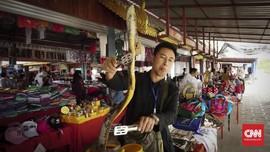 FOTO: Berlayar di 'Pertigaan' Jalur Opium