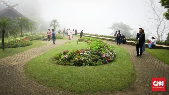 Istana Doi Tung juga memiliki taman bunga yang cantik, bernama Mae Fah Luang. Baik istana dan tamannya berada dalam lahan seluas 10 are di Gunung Doi Tung yang selalu berkabut.