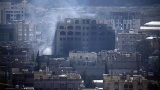 Koalisi Saudi Serang Pemberontak Yaman, 35 Orang Tewas