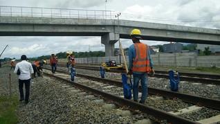 Jalur Tak Sebidang Kerek Harga Pembangunan Jalur KA di Sulsel