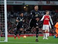 MU Unggul 2-0 Atas Tuan Rumah Arsenal di Babak Pertama