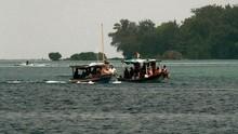 Belasan Ribu Wisatawan Sambangi Pulau Seribu