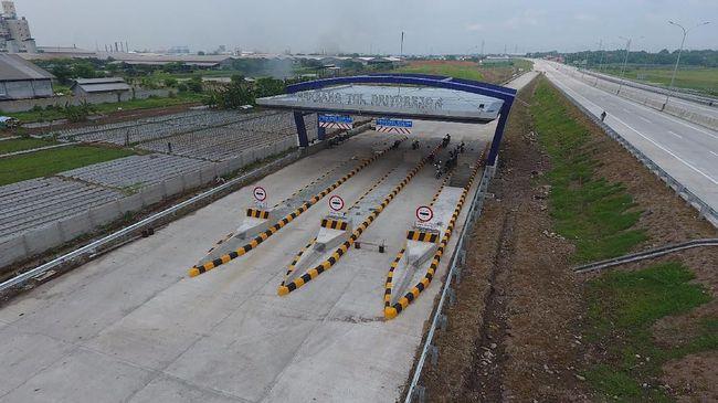 Seksi Ketiga Jalan Tol Surabaya-Mojokerto Siap Beroperasi