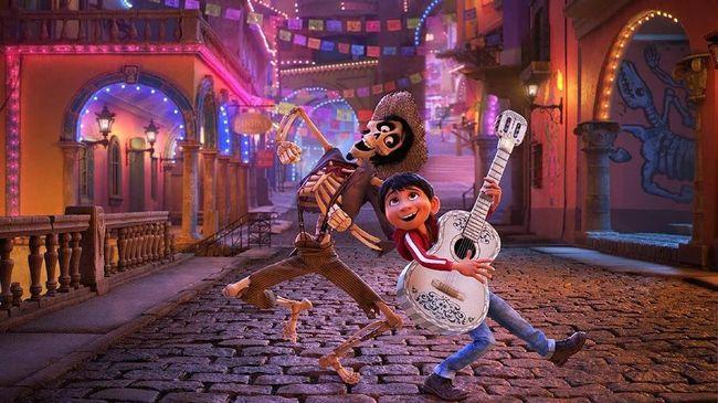 'Coco' Dongkrak Popularitas Desa Pembuat Gitar di Meksiko