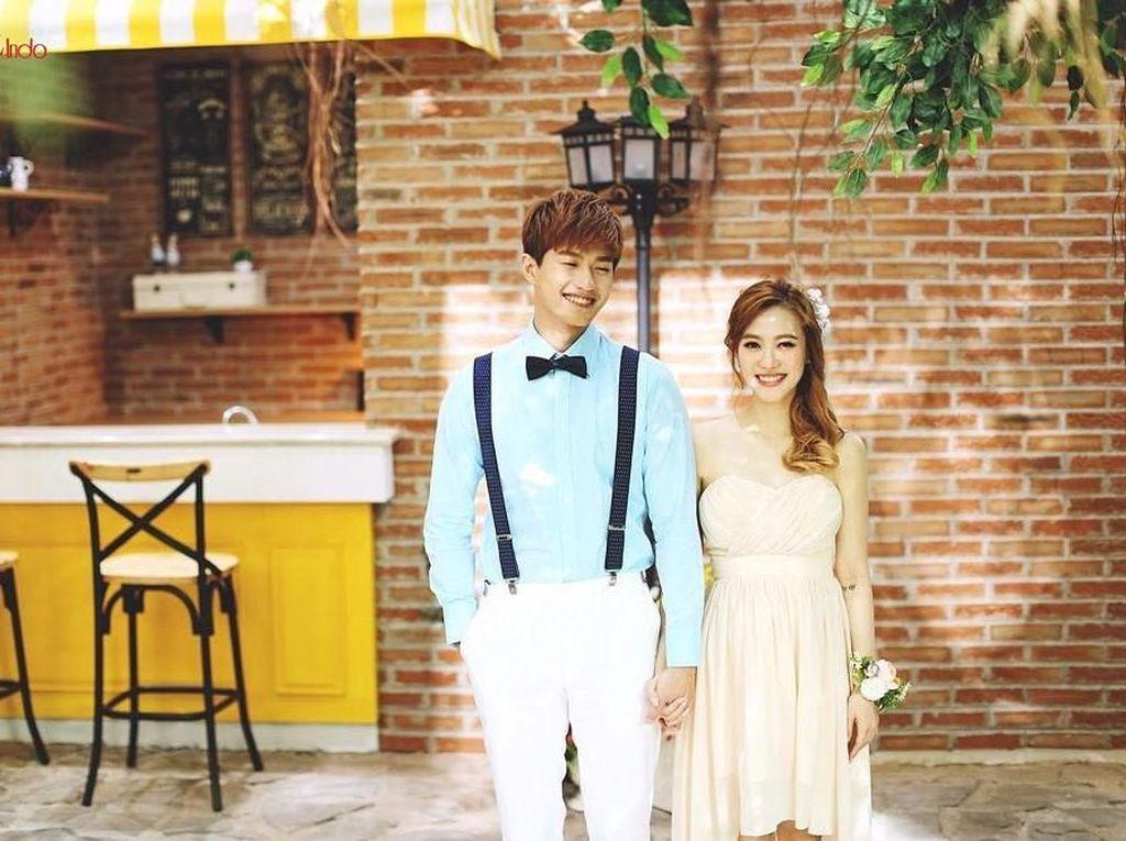 Inspirasi Foto Prewedding Bertema Korea ala Lee Jeong Hoon dan Moa