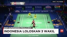 VIDEO: Tiga Wakil Indonesia di BWF Super Series Finals 2017