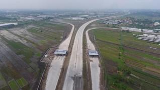 Pengoperasian Jalan Tol Baru Capai 332 Km