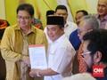 Didukung SOKSI, Airlangga Jamin Dukung Jokowi Hingga 2024