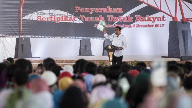 Jokowi 'Pecut' BPN Selesaikan Sertifikat Tanah di 2025