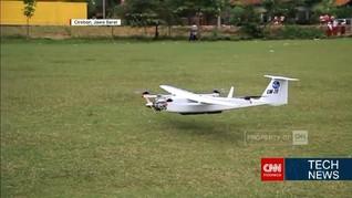 VIDEO: Drone Khusus Pemetaan Karya Anak Bangsa