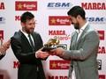 Aksi Lucu Anak Messi dan Luis Suarez