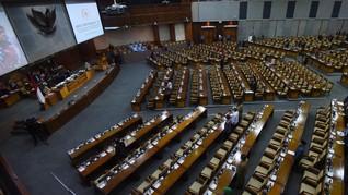 DPR-Pemerintah Sepakati 50 RUU Prolegnas Prioritas 2020