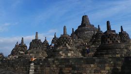 Pesona Borobudur Bius Media dan Blogger Korea