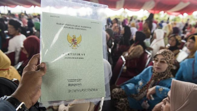 Jokowi Berhasil Terbitkan 9,4 Juta Sertifikat Tanah di 2018
