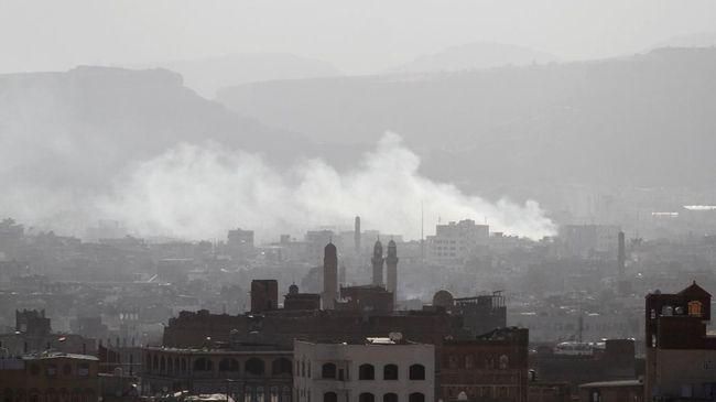 Serangan Terbesar Saudi di Yaman, Gempur Basis Utama Houthi