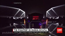 Youtuber Ciptakan Replika 'Tie Fighter' dalam Star Wars
