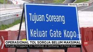 Menjajal Soroja, Tol Baru di Bandung