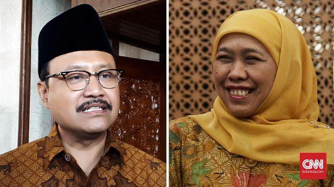 Dilema Jokowi Sikapi Gus Ipul dan Khofifah di Pilgub Jatim