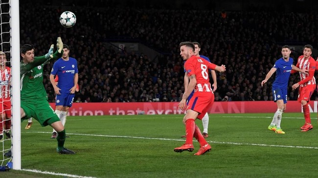 <p>Chelsea kehilangan posisi di puncak klasemen Grup C setelah ditahan imbang Atletico Madrid 1-1 di Stadion Stamford Bridge. Chelsea kalah head-to-head dari Roma. (REUTERS/Toby Melville)</p>