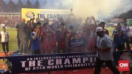 PSSI Diduga Tunggak Rp1,5 Miliar Tsunami Cup 2017