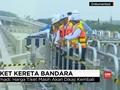 VIDEO: Jokowi Nilai Tarif Kereta Bandara Rp100 ribu Kemahalan