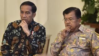 Jusuf Kalla Dilibatkan Cari Pendamping Jokowi di Pilpres 2019