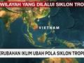VIDEO: Perubahan Iklim Pengaruhi Pola Siklon Tropis