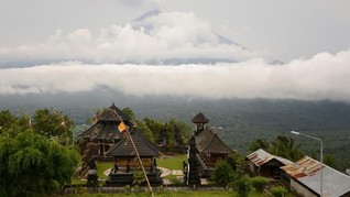 Erupsi Gunung Agung Timbulkan Kerugian Ekonomi Rp11 Triliun