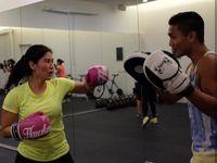 Dian mengaku baru-baru ini mencoba dan keranjingan olahraga bela diri seperti body combat. (Foto: Instagram/therealdisastr)