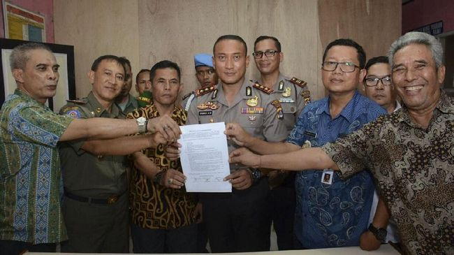 Polisi: Surat Larangan Ibadah di Tangerang Tak Berlaku