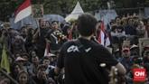 <p>Apresiasi seni menjadi salah satu yang ditampilkan dalam ajang Kamisan ke-517 ini. (CNNIndonesia/Adhi Wicaksono)</p>