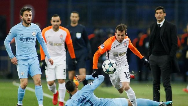 Kalahkan ManCity, Donetsk Lolos 16 Besar Liga Champions